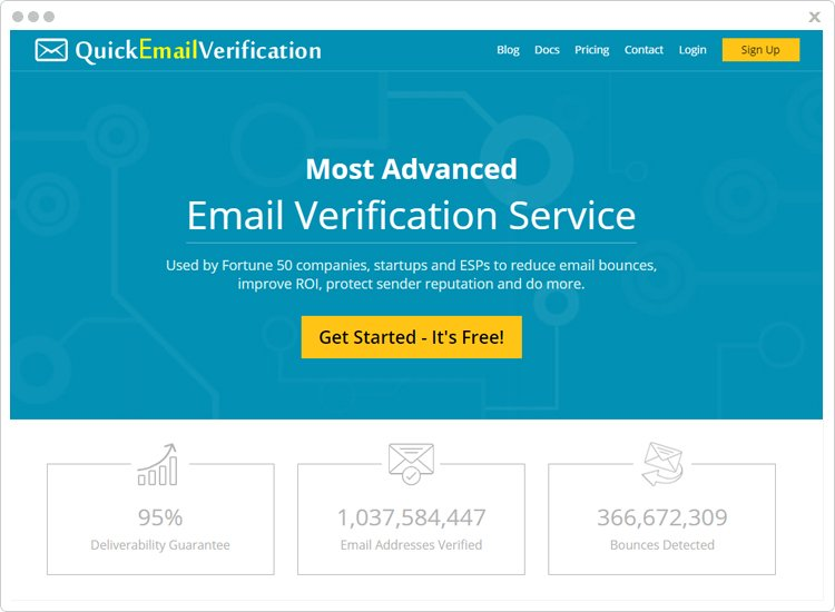 Quick Email Verification Best Email List Cleaning Software