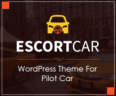 EscortCar - Pilot Car WordPress Theme
