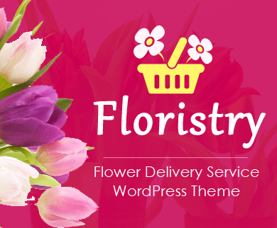 Floristry - Flower Delivery Service WordPress Theme
