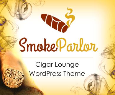 SmokeParlor - Cigar Lounge Restaurant WordPress Theme