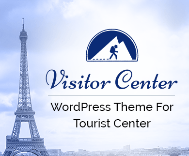 Visitor Center - Tourist Center WordPress Theme