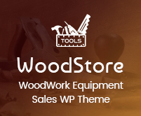 WoodStore - Woodwork Machinery & Equipment Sales WordPress Theme
