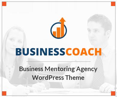 BusinessCoach - Business Mentoring Agency WordPress Theme