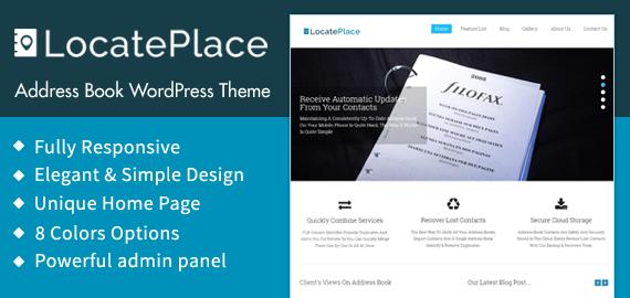 Address Book WordPress Theme