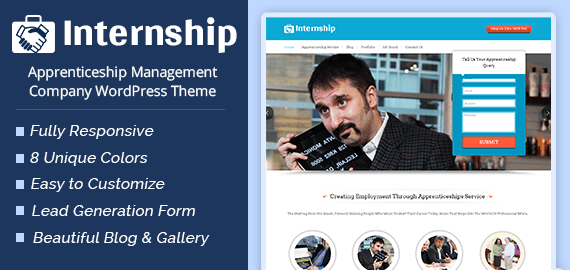 Apprenticeship Management Company WordPress Theme   InkThemes