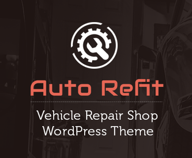 AutoRefit - Vehicle Repair Shop WordPress Theme