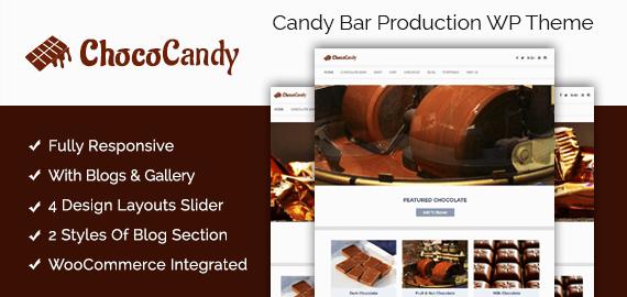 Candy Bar Production WordPress Theme