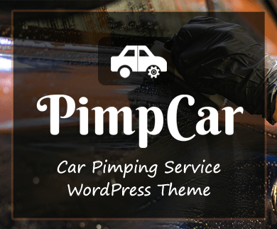 PimpCar - Car Pimping Service WordPress Theme