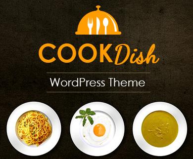 Cook Dish - Recipe Subscription Service WordPress Theme