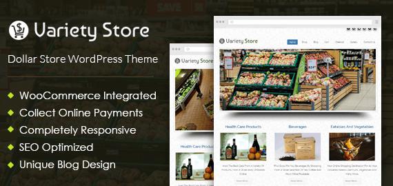 Dollar Store WordPress Theme