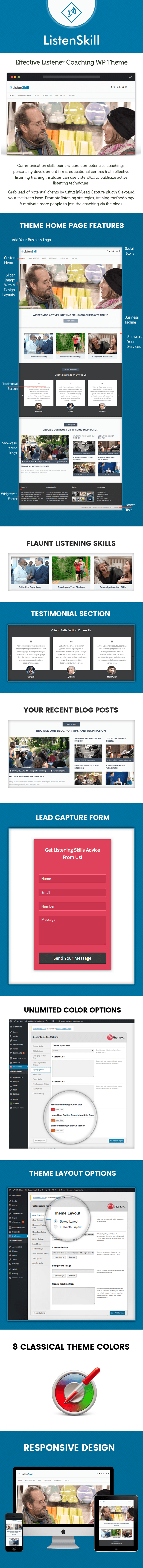 Effective Listener Coaching WordPress Theme