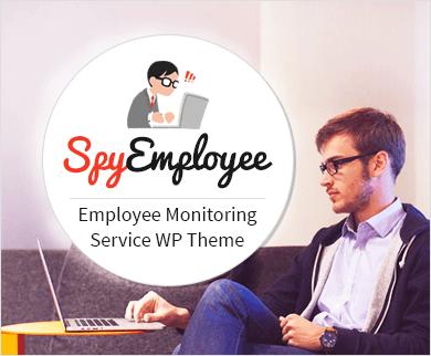 SpyEmployee - Employee Monitoring Service WordPress Theme