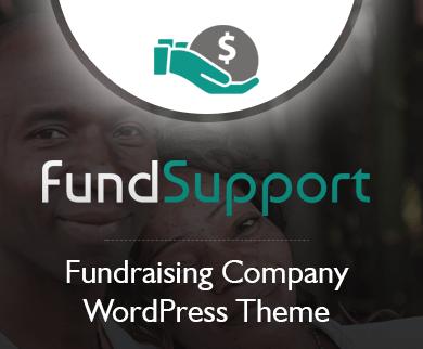 FundSupport - Fundraising Company WordPress Theme
