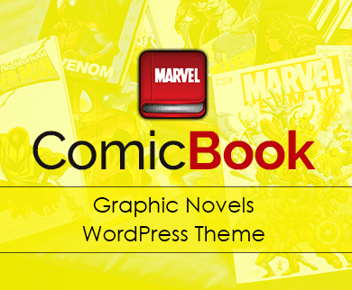 ComicBook - Graphic Novels WordPress Theme & Template