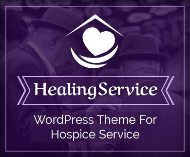 HealingService - Medical Hospice Service WordPress Theme