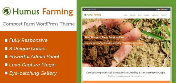 Compost Farm WordPress Theme