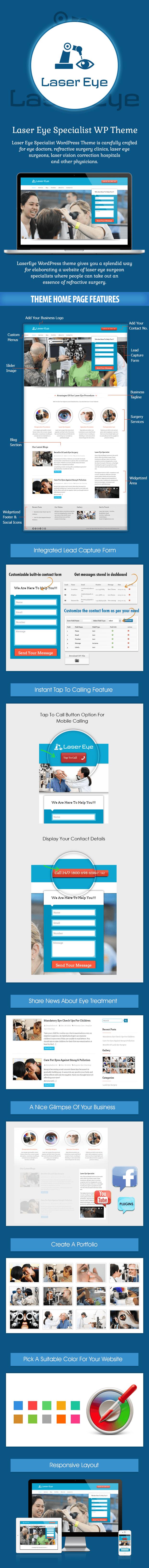 Laser Eye Specialist WP Theme