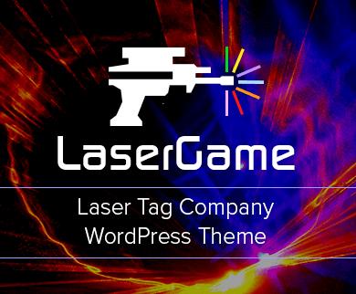 LaserGame - Laser Tag Company WordPress Theme
