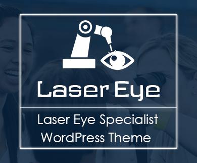 LaserEye - Laser Eye Specialist Clinic WordPress Theme & Template