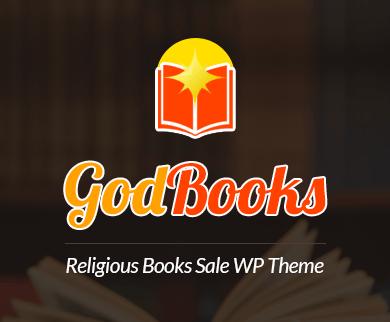 GodBooks - Religious Books Sale WordPress Theme
