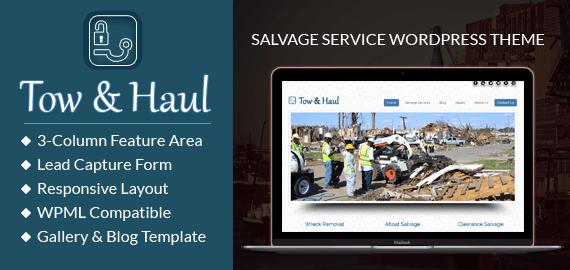 Salvage Service WordPress Theme