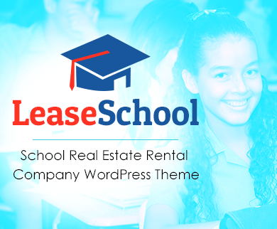 LeaseSchool - School Real Estate Rental Company WordPress Theme