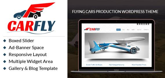 Flying Cars Production WordPress Theme