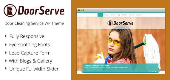 Door Cle]aning Service WordPress Theme