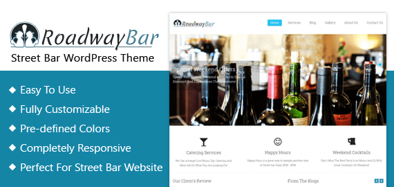 Street Bar WordPress Theme