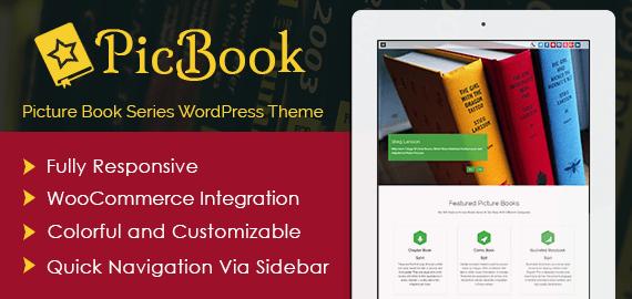 Picture Book Series WordPress Theme