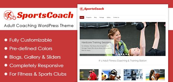 Adult Coaching WordPress Theme