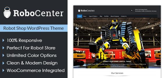 Robot Shop WordPress Theme