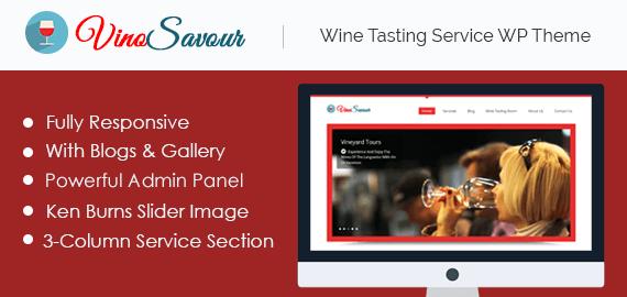 Wine Tasting Service WordPress Theme