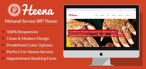 Mehandi Service WordPress Theme