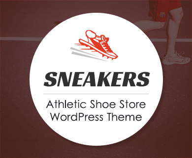 Sneakers - Athletic Shoe Store WordPress Theme