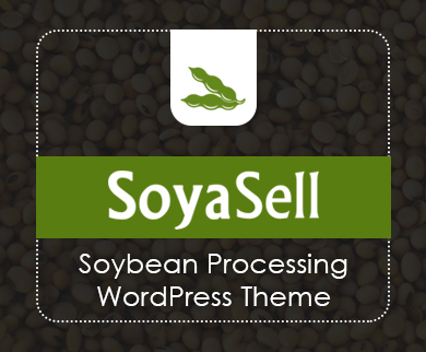SoyaSell - Soybean Processing WordPress Theme