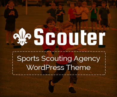 Scouter - Sports Scouting Agency WordPress Theme