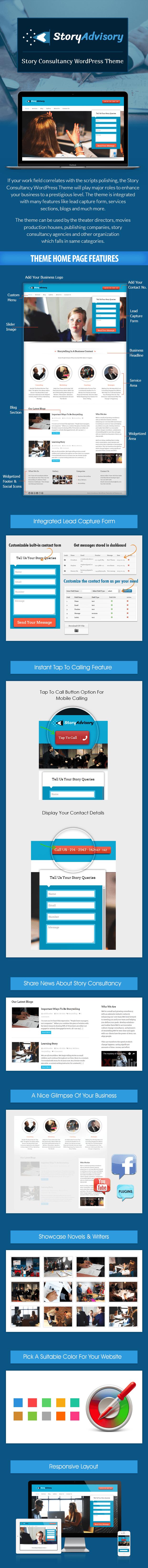 Story Consultancy WordPress Theme sales