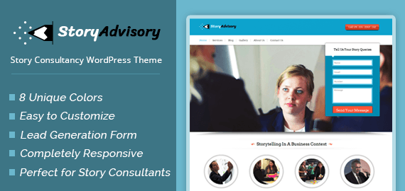 Story Consultancy WordPress Theme