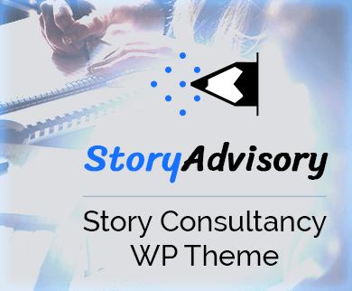 StoryAdvisory - Story Consultancy WordPress Theme