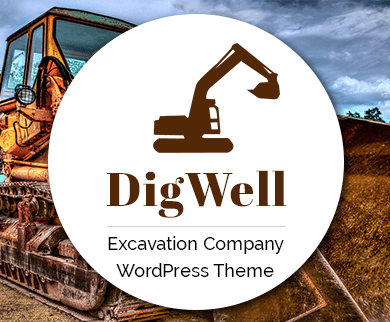 DigWell - Excavation Company WordPress Theme