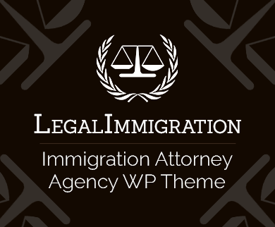 LegalImmigration - Immigration Attorney Agency WordPress Theme