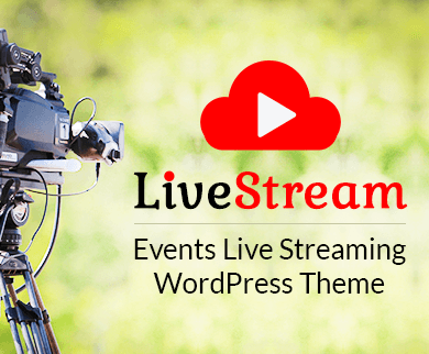 LiveStream - Events Live Streaming WordPress Theme