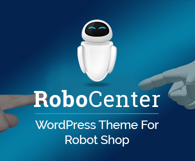 RoboCenter - Robot Shop WordPress Theme