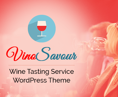 VinoSavour - Wine Tasting Service WordPress Theme