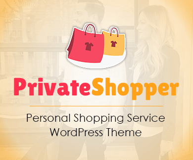 PrivateShopper- Personal Shopping Service WordPress Theme