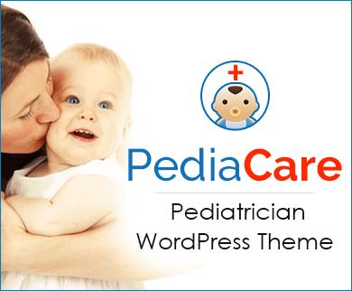 PediaCare -  Pediatrician Doctor WordPress Theme & Template