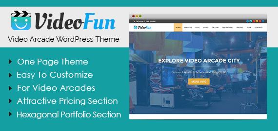 Video Arcade WordPress Theme