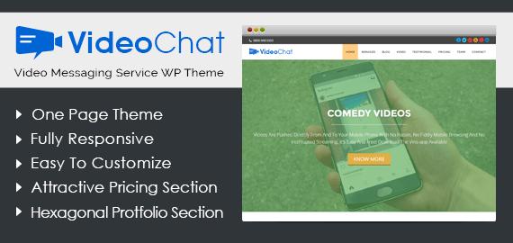 Video Messaging Service WordPress Theme