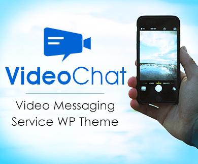 VideoChat - Video Messaging Service WordPress Theme